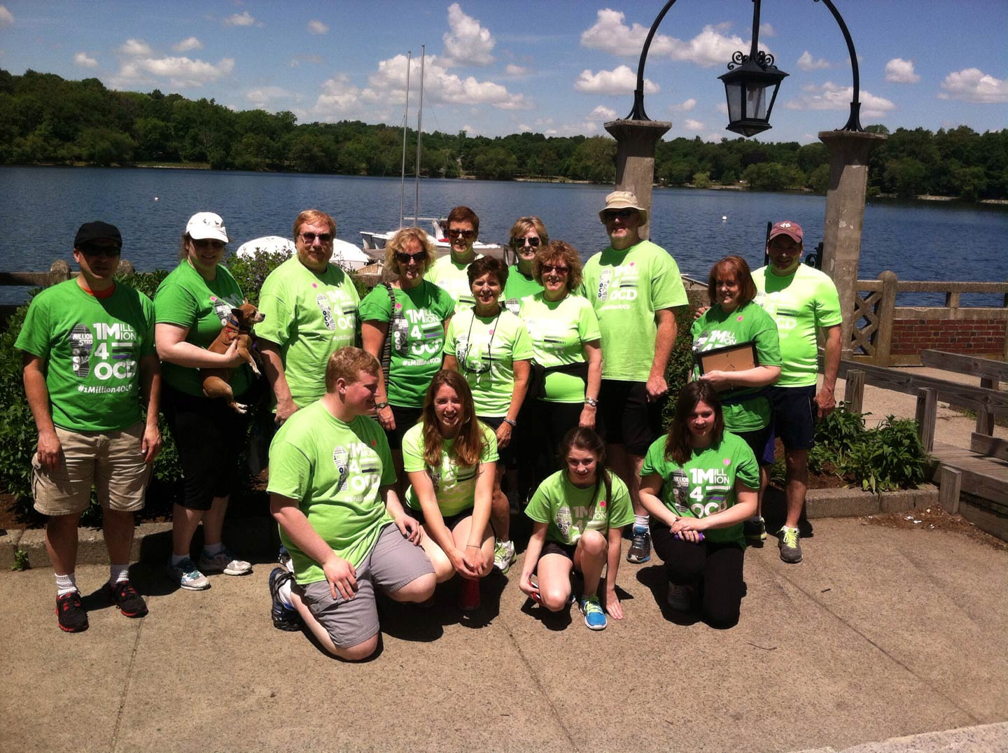OCD Walk participants from CT